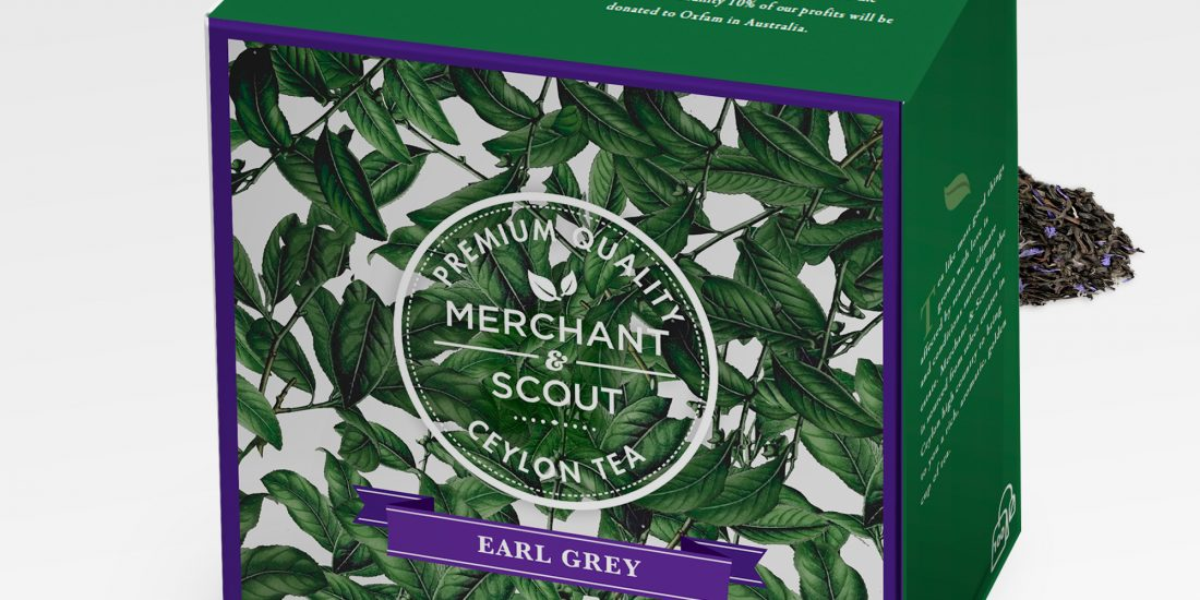 Merchant & Scout Tea Packaging