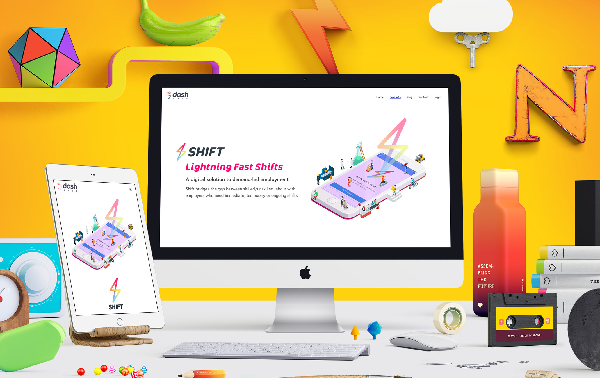Shift-website