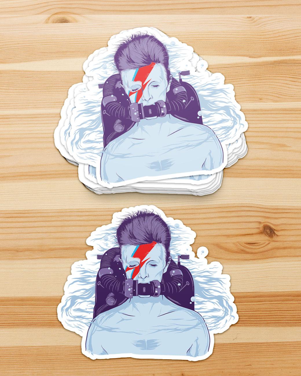 Rebreather – David Bowie Illustration